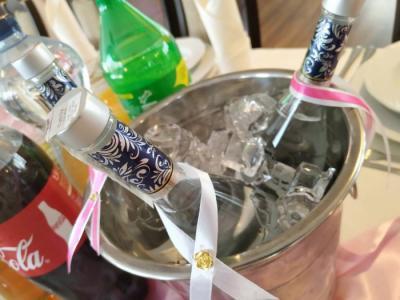Alkohol wsadzony wmisę zlodem
